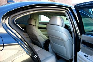 TAG Armored BMW sedan with professional interior finishing