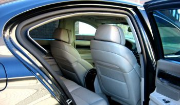 Armored BMW sedan with professional interior finishing