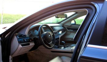 Picture of armored BMW interior with bulletproof glass