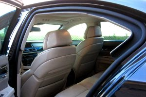 TAG Armored BMW 3, 5, 7 Series Rear Interior