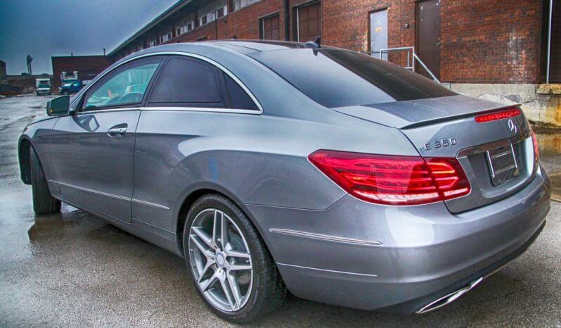 Armored Mercedes E Class full