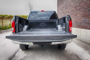 TAG Armored Ford F-150 Tailgate Down