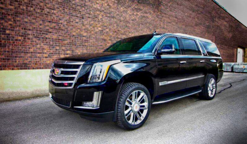 Armored Cadillac Escalade full