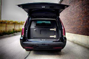 TAG Armored Cadillac Escalade Rear Bullet Proof Door