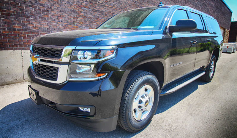 Armored Suburban 3500 Bulletproof Chevrolet Suv The Armored Group