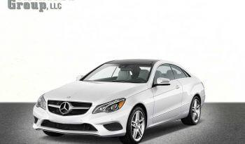 Picture of white armored Mercedes E-Class sedan