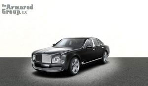 TAG Picture of armored Bentley Mulsanne Series sedan