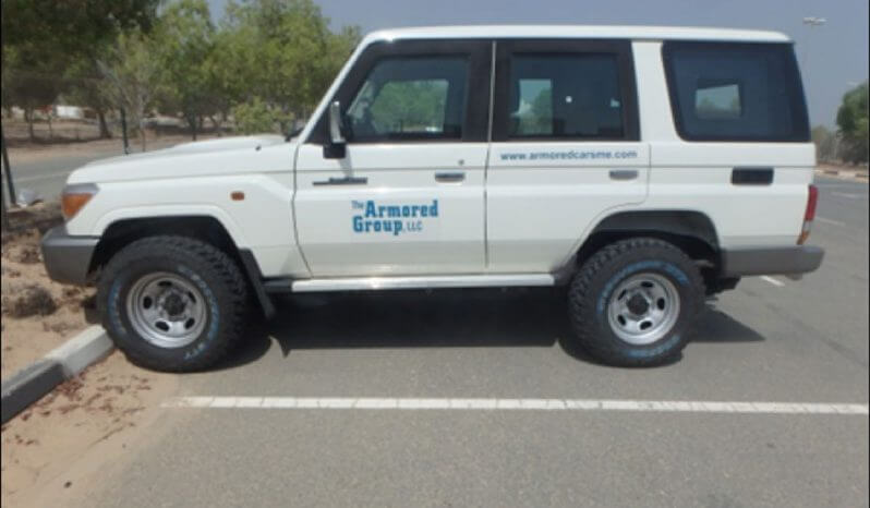 TAG Armored Toyota Land Cruiser 76 Series Side
