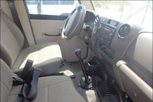 TAG Armored Toyota Land Cruiser 76 Series Steering Wheel Shift