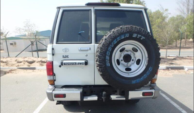 TAG Armored Toyota Land Cruiser 76 Series Rear