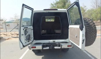 TAG Armored Toyota Land Cruiser 76 Series Rear Door Open