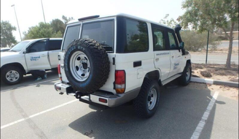 TAG Armored Toyota Land Cruiser 76 Series Rear Corner