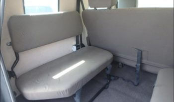 Interior of bulletproof Toyota Land Cruiser (TLC) 76 Series cash-in-transit SUV