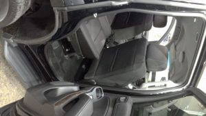 TAG Armored Chevrolet Tahoe Backseat Door Open Side View