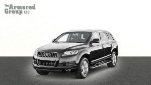 TAG Black armored Audi Q7 luxury SUV picture