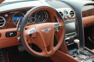 TAG Armored Bentley Flying Spur Series Picture of armored Bentley professional interior finishing