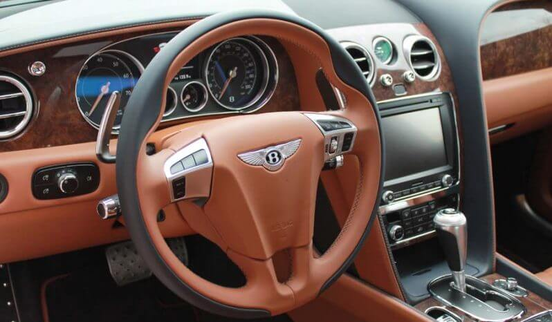 Picture of armored Bentley professional interior finishing