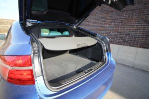 TAG Armored BMW X5 Trunk Hatch Open Interior Cargo Space