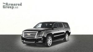 TAG Armored SUV Cadillac Front