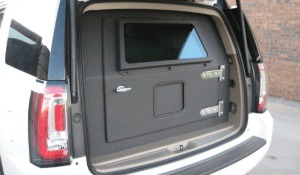 TAG 2010 Armored GMC Yukon Denali Rear Bullet Proof Door
