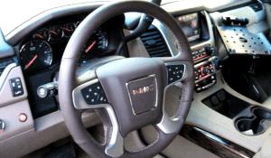 TAG 2010 Armored GMC Yukon Denali Steering Wheel