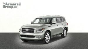 TAG Armored SUV Infinity Front