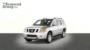TAG Armored SUV Nissan Front