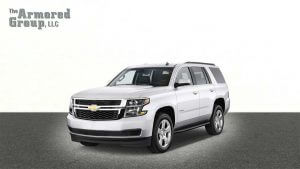 TAG Armored Chevrolet Tahoe Picture of armored Chevrolet Tahoe SUV
