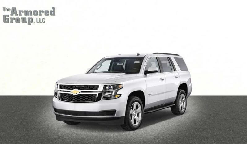 Armored Chevrolet Tahoe full