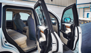 Interior of bulletproof Toyota Land Cruiser (TLC) 200 Series cash-in-transit vehicle