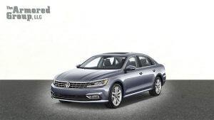 TAG Armored Sedans Volkswagen Front
