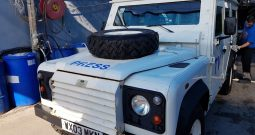 2003 Armored Land Rover Defender