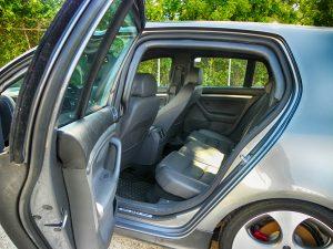 TAG 2008 Armored Volkswagen GTI Rear Interior