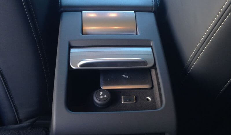 TAG 2012 Armored S80 Volvo Rear Center Console View