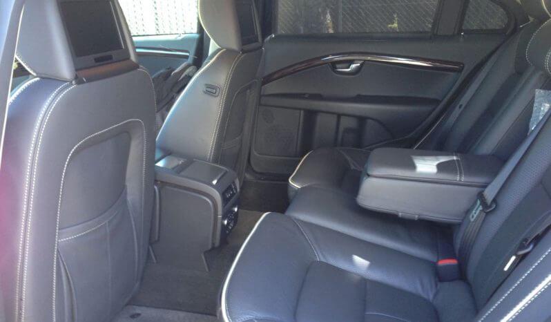Interior of pre-owned 2012 bulletproof S80 Volvo sedan picture