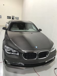TAG 2015 BMW 7 Black pre-owned 2015 armored BMW 7 sedan picture