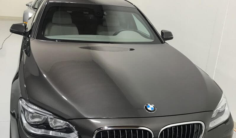 Black pre-owned 2015 armored BMW 7 sedan picture