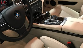 Interior of pre-owned 2015 bulletproof BMW 7 sedan