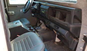 Interior of pre-owned 2003 bulletproof Land Rover Defender SUV