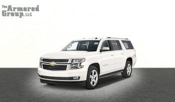 TAG Discreet Armored Suburban White armored Chevrolet Suburban 1500 SUV picture