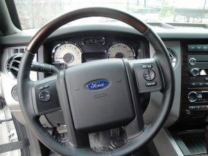 TAG Armored Ford Expedition Steering Wheel
