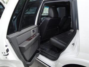TAG Armored Ford Expedition Back Door Open