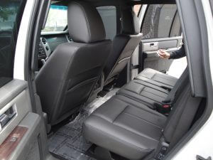 TAG Armored Ford Expedition Backseats Side