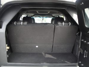 TAG Armored Ford Expedition Rear Seat View