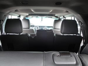 TAG Armored Ford Expedition Third Row Seats