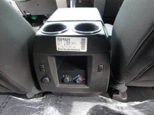 TAG Armored Ford Expedition Backseat A/C Control Cupholders
