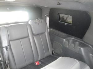 TAG Armored Ford Expedition Rear Side Bullet Proof Window