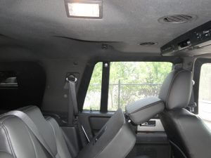 TAG Armored Ford Expedition Back Seat Leaned Forward