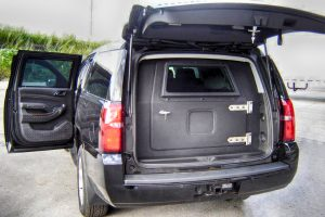 TAG Discreet Armored Suburban Rear Bullet Proof Door