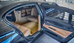 TAG 2012 Armored S80 Volvo Back Passenger Door Open